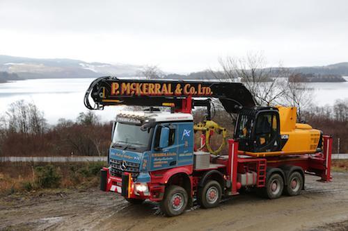 Кейс: ускорение транспортировки лесоматериалов с техникой JCB