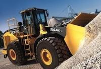 Компания John Deere представила новый фронтальный колесный погрузчик