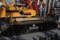 Китайская компания XCMG и нефтяная корпорация Sinopec создали 3600-тонный мегакран