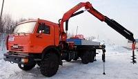 КАМАЗ-43118 с КМУ Palfinger PK 23500 будет строить электросети на Дальнем Востоке