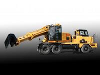 Компания Gradall представила новую модель колесного экскаватора
