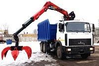 Ломовозы с КМУ Palfinger будут работать в московском коммунальном хозяйстве