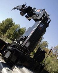 Компания Cargotec представила новую 52-тонную КМУ Hiab