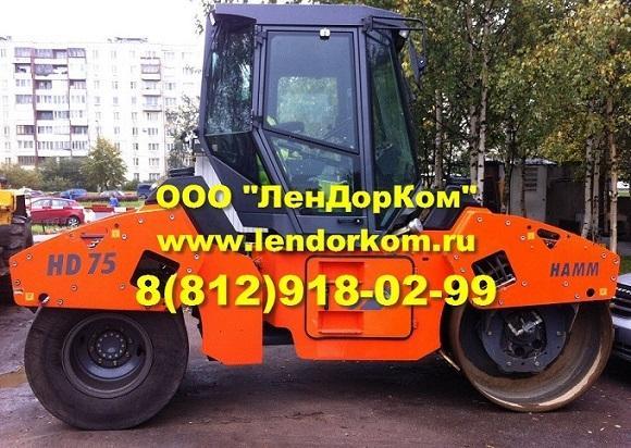 Комбинированный каток Hamm HD 110К