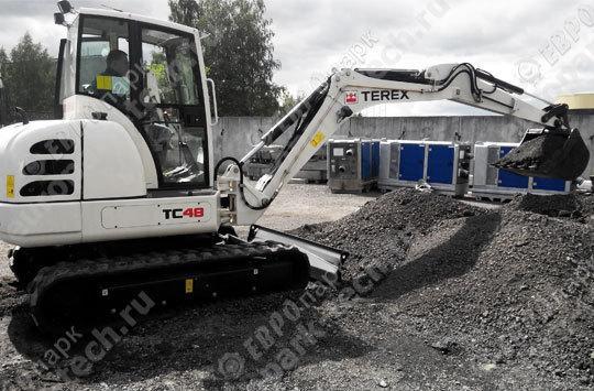 Мини-экскаватор Terex TC 48