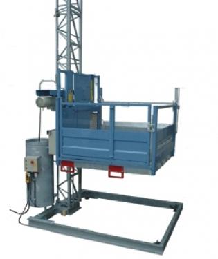 Вертикальный мачтовый подъемник GEDA 1200 Z/ZP