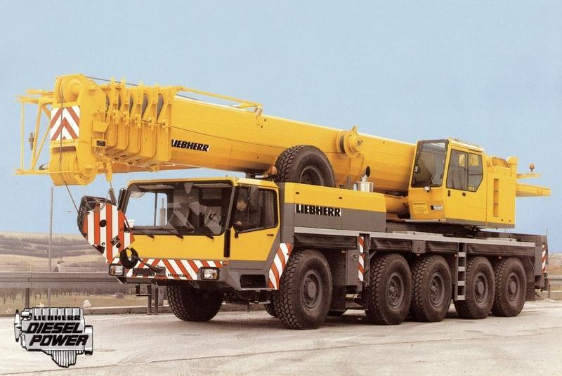 Автокран Liebherr LTM 1120