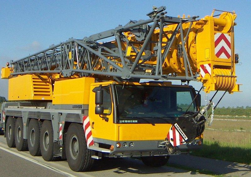 Автокран Liebherr LTM 1160-5.1