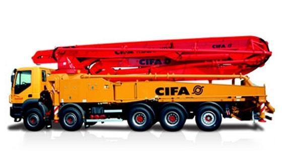 Автобетононасос Cifa K52 L XRZ