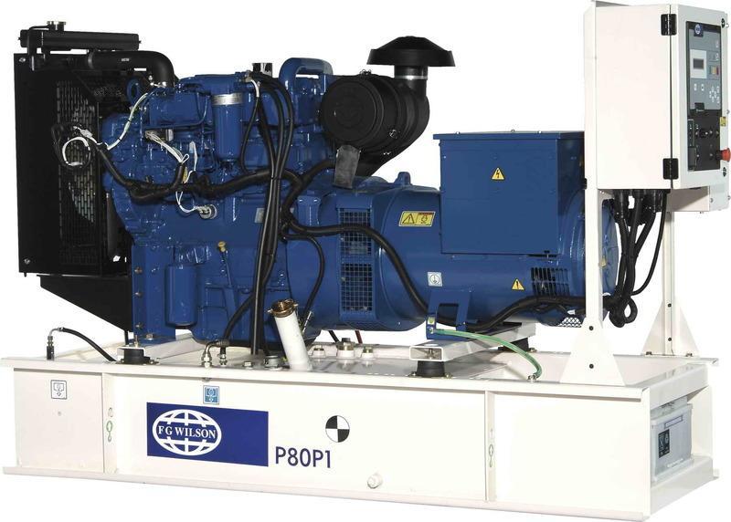 Дизельный генератор FG Wilson P80