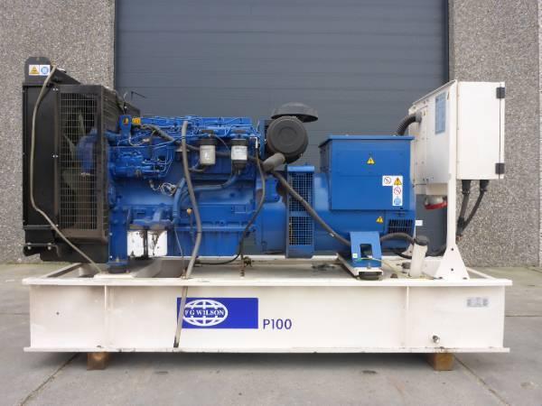 Дизельный генератор FG Wilson P100