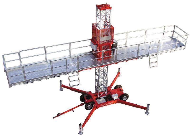 Одномачтовая платформа Scanclimber SC 1300