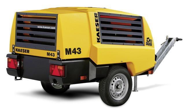 Дизельный компрессор KAESER M43