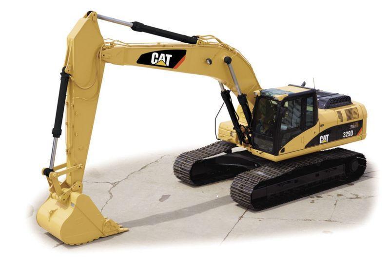 Гусеничный экскаватор Caterpillar 329D L