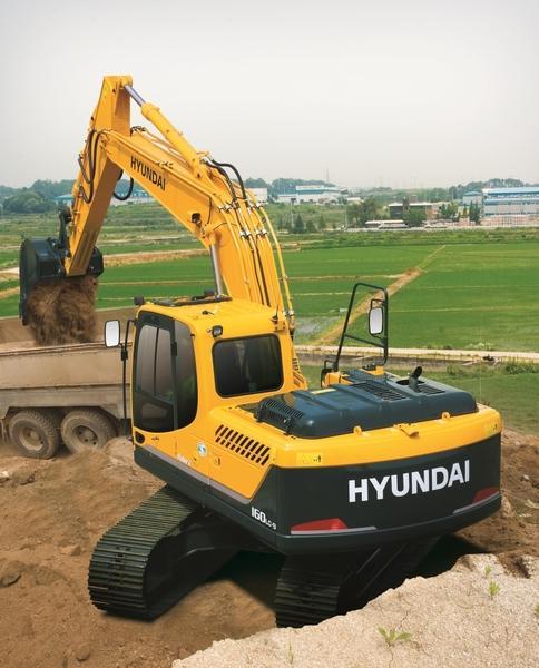 Гусеничный экскаватор Hyundai R160LC-9
