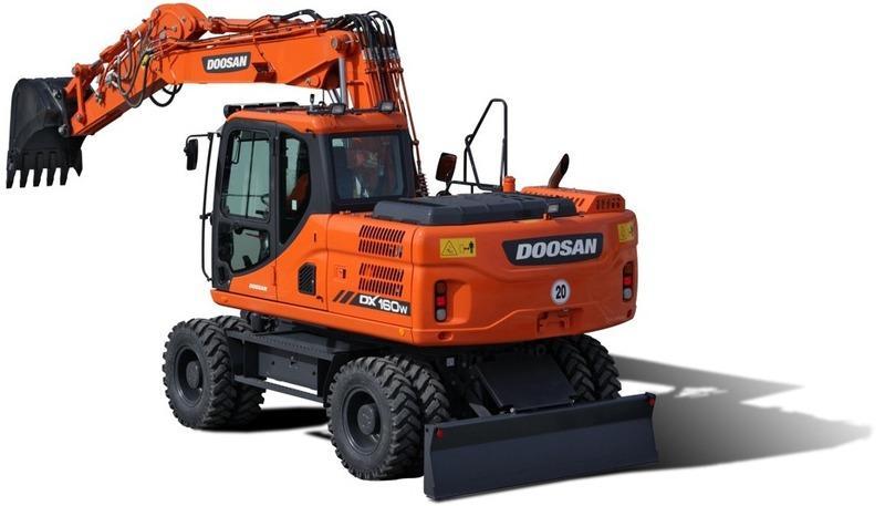 Колесный экскаватор Doosan DX160W-3