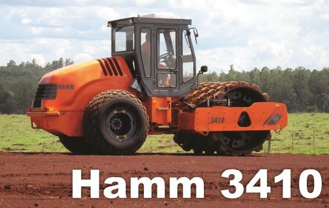 Вибрационный каток Hamm 3410