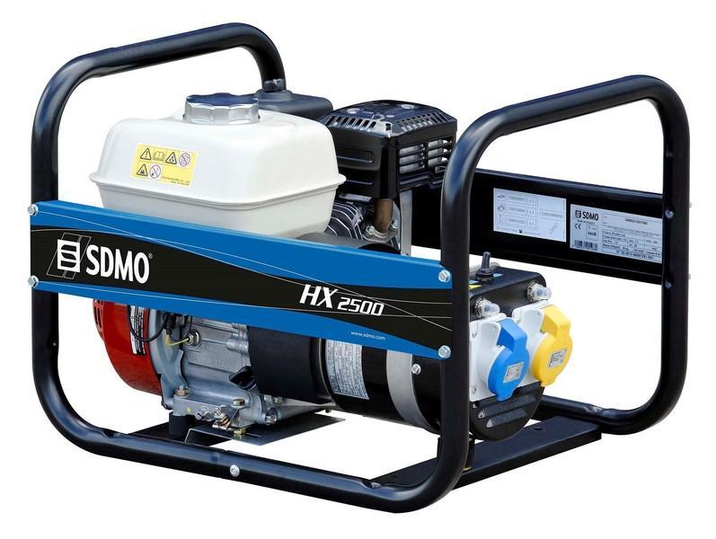 Бензиновый генератор SDMO HX2500S