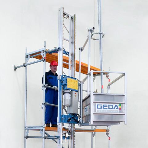 Электролебедки и полиспасы GEDA Primo-200