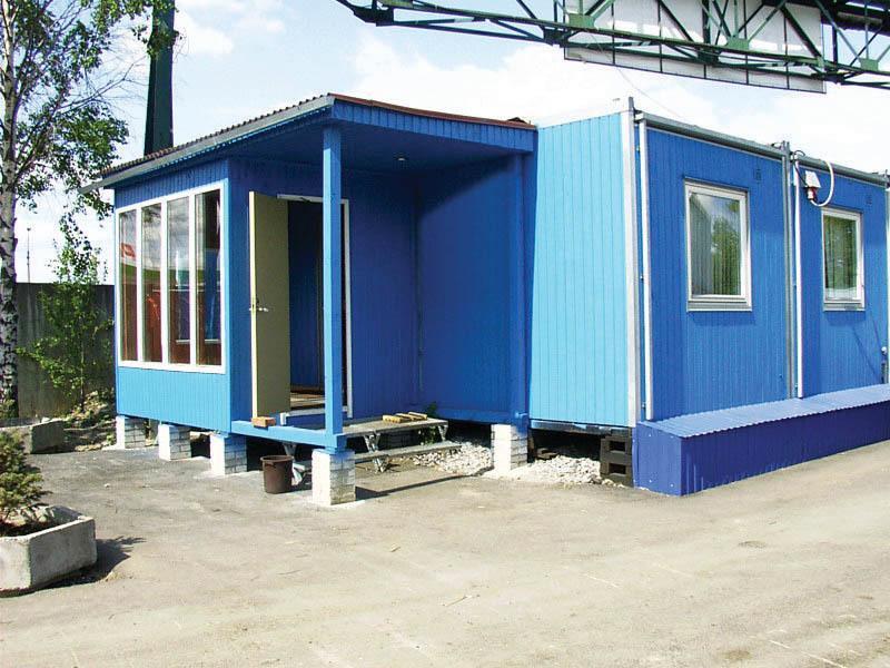 Мобильные жилые помещения, офисы Containex тип C и D