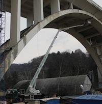 LTECH под мостом