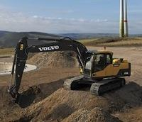 Новые D-экскаваторы Volvo