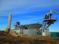 Бетонный завод для нефтегазовой компании