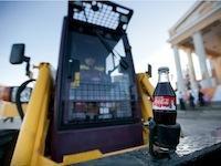 Спорт, погрузчик, Coca Cola