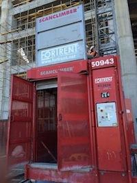 Лифт для «Зенит-Арены»