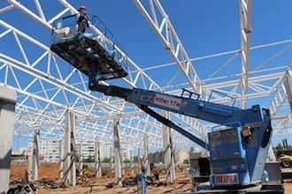 Komatsu строит «Мегастрой»
