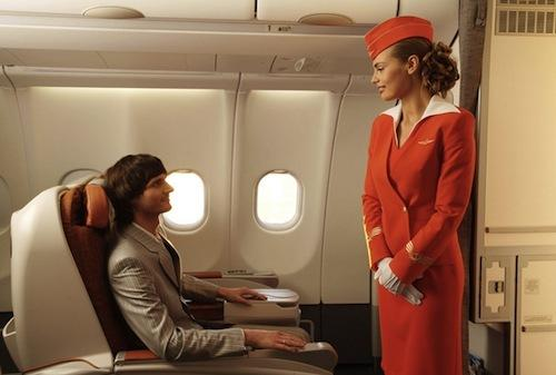 Komatsu летает в бизнес-классе «Аэрофлота»