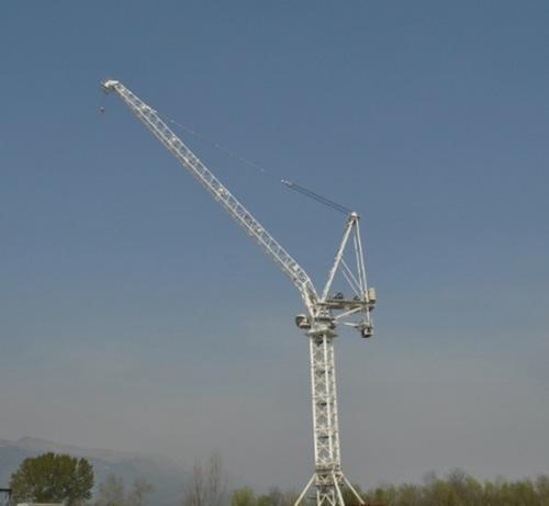 Новый башенный кран Terex