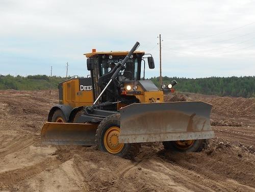 «Испытание рудником» для John Deere