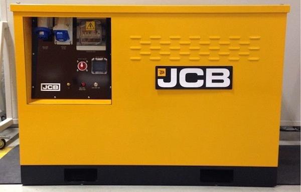 Первый генератор-гибрид от JCB
