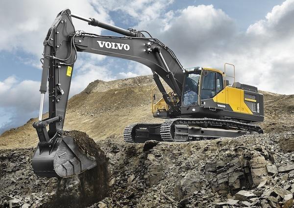 Новый экскаватор Volvo копает глубже, чище, дольше