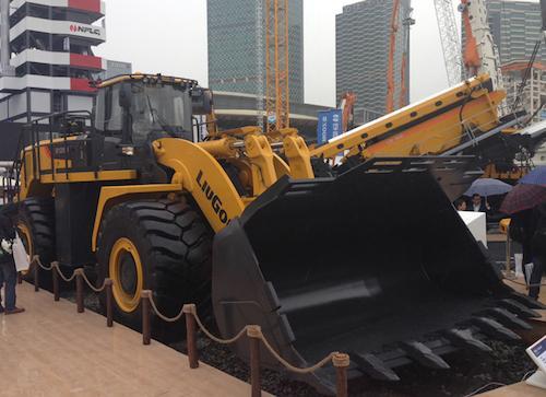 Новый колесный гигант Liugong