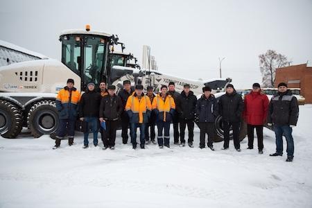 Автогрейдеры Terex для удмуртских дорог