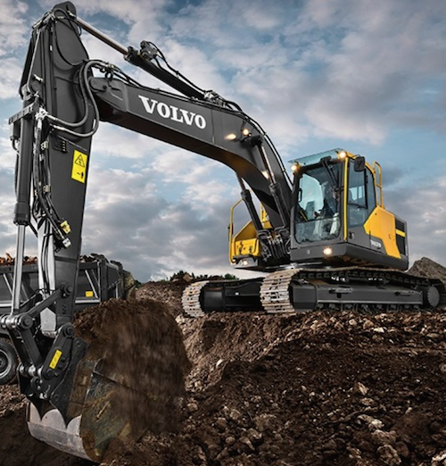 Volvo CE обновляет линейку экскаваторов
