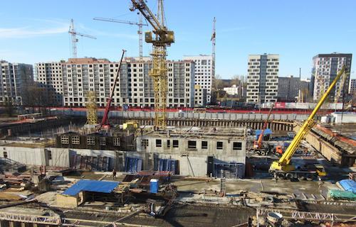 «Фортрент» на строительстве скандинавского дома