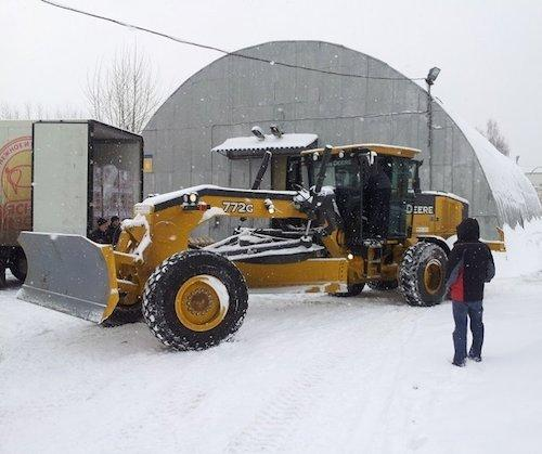 John Deere поможет сдать автодорогу досрочно