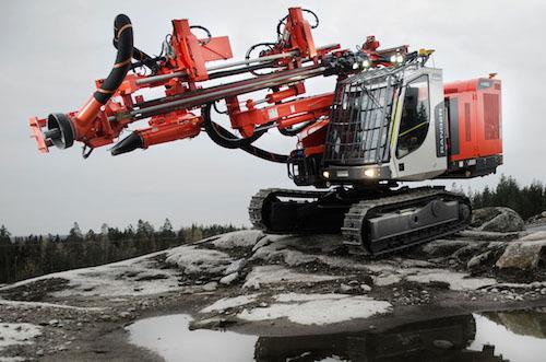 Буровые работы становятся безопаснее с Sandvik