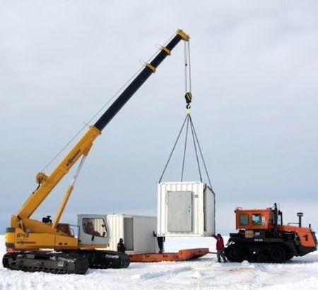 Sennebogen осваивает Антарктику