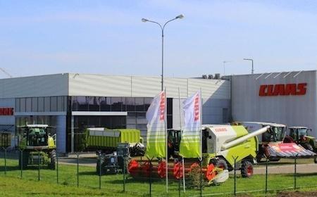CLAASсный завод построен с «Фортрент»
