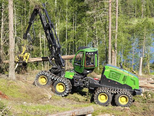 Спецтехника John Deere для лесов Хабаровского края