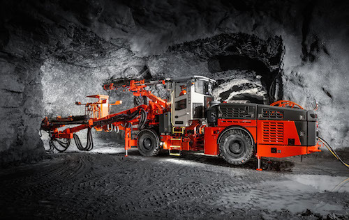 Новые возможности буровой установки Sandvik